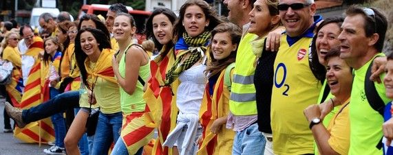 Catalan Separatists Pull Off Protest But Referendum Is Harder - After 400-Kilometer Human Chain, Secessionists Need to Line Up Support for Referendum