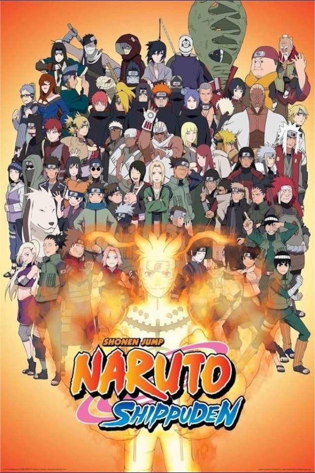 Naruto Shippuden /// Genres Action, Comedy, Martial Arts