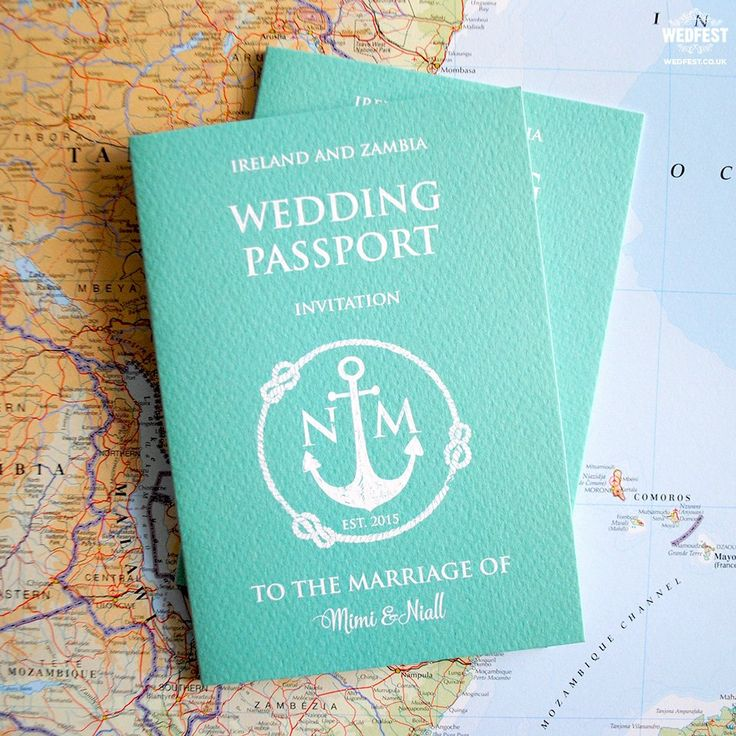 keralwedding card wordings in english%0A Who knew we could convert a  passport into a  wedding  invite