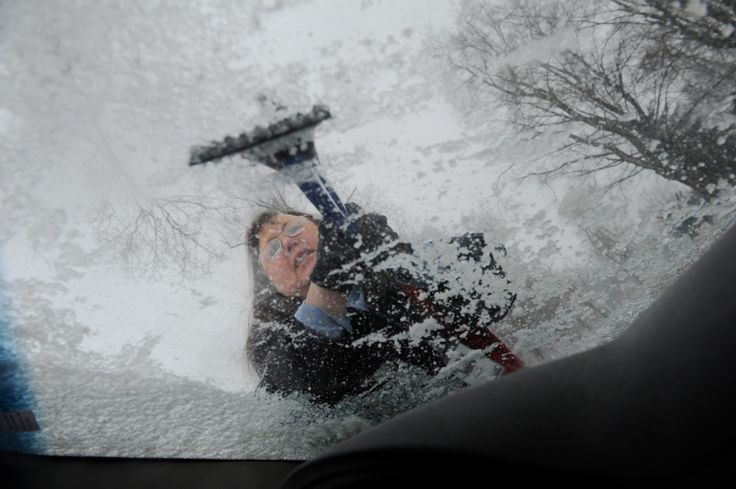 A large swath of the country from Texas to New York City was bracing for yet another round of winter weather on Thursday, with sleet and ice forecast for the...