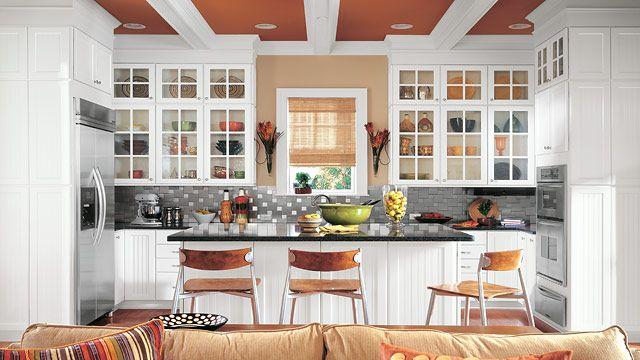Tucson white thermo foil kitchen timberlake cabinetry for Kitchen design tucson