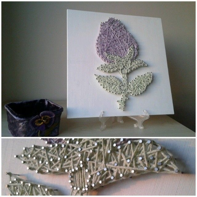 1000 images about nail and string art on pinterest nail for Diy nail and string art
