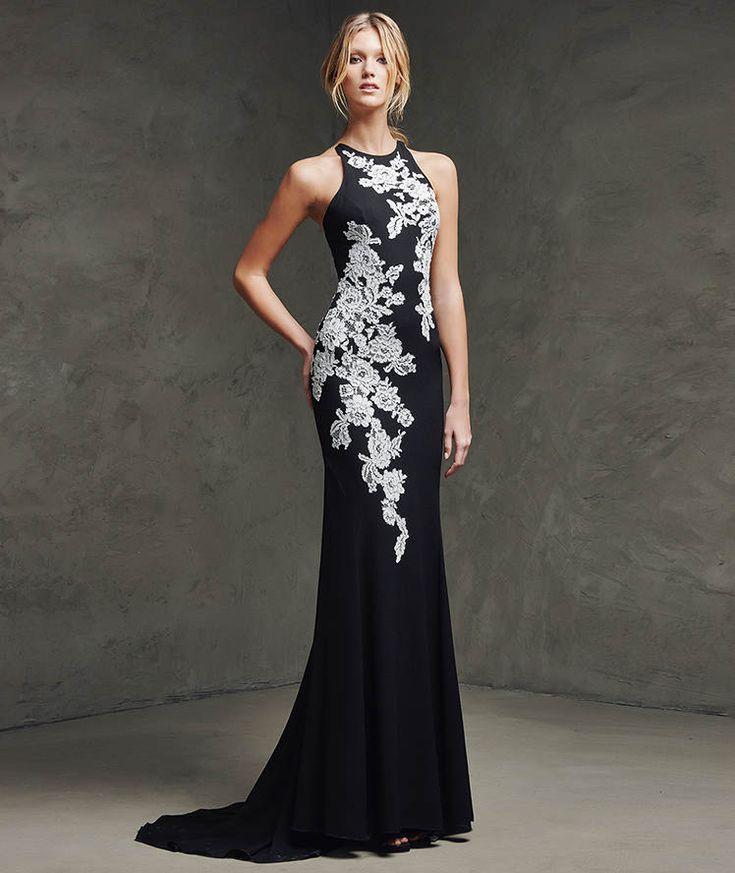 La combinación del color blanco y negro siempre es una opción muy elegante