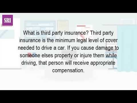 What is a third-party car insurance? - WATCH VIDEO HERE -> http://bestcar.solutions/what-is-a-third-party-car-insurance     Googleusercontent search. Compare insurance quotes and find cheap deals online. What is third-party auto insurance, fire and theft? Confused. It covers your legal liability for damage you have caused to a third party only bodily injury, death peace of mind without bells and whistles! get an...