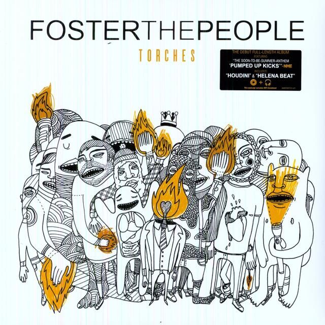 Foster The People TORCHES Vinyl Record | Great Album ...