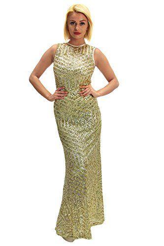 Edles maxi Kleid mit Pailletten, Größe:S;Farbe:Gold DSguided http://www.amazon.de/dp/B00S8K3S94/ref=cm_sw_r_pi_dp_Cbc-ub1TKPHMP