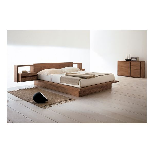 Vegas Timber Platform Bed @ Bedworks Tasmania Oak or Pine