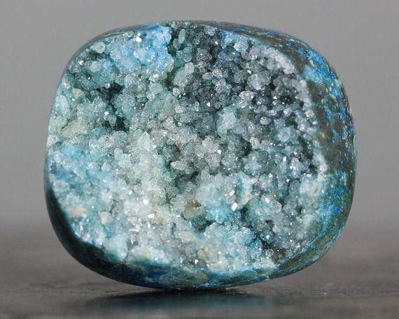 Druzy Cabochon, Chunky Stone, Jasper Semiprecious Stone
