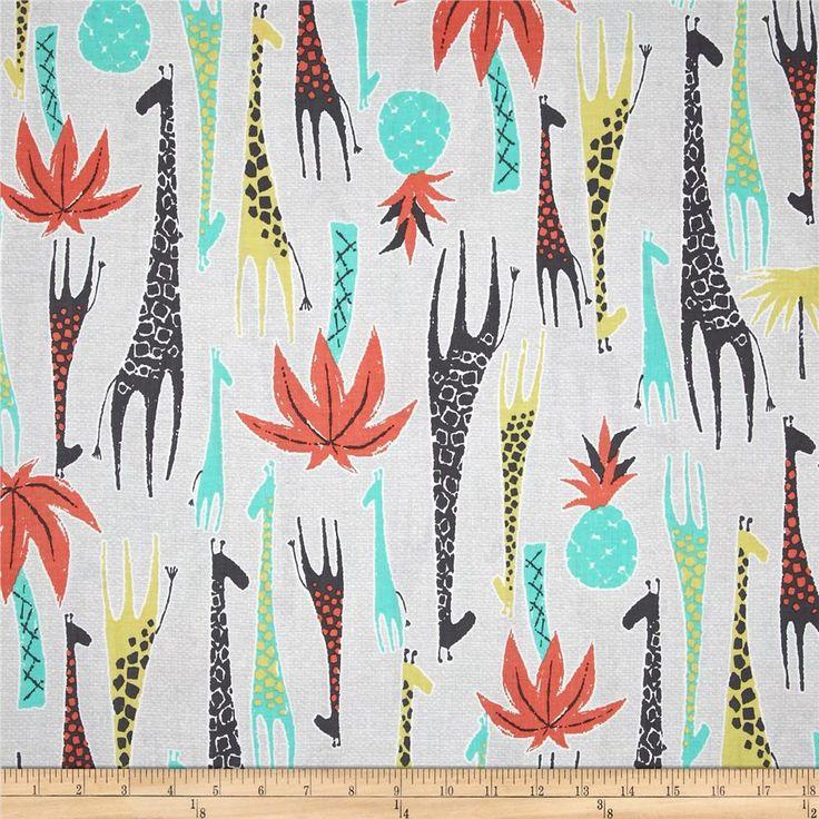 tissu patchwork enfant Michael Miller GIRAFFES : Tissus pour Patchwork par les-bricoles-de-m-martine