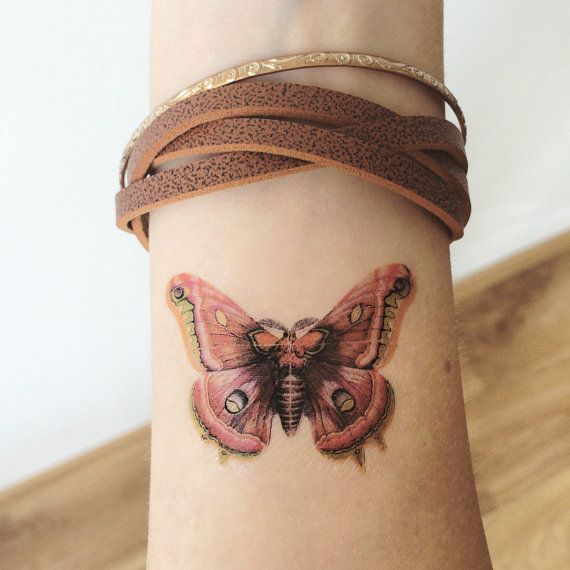 This set includes:  Vintage Style Butterfly x 2pcs Size: 5cm (length)  >>>DIRECTIONS OF USE<<< How long do the tattoos last? Our temporary tattoos