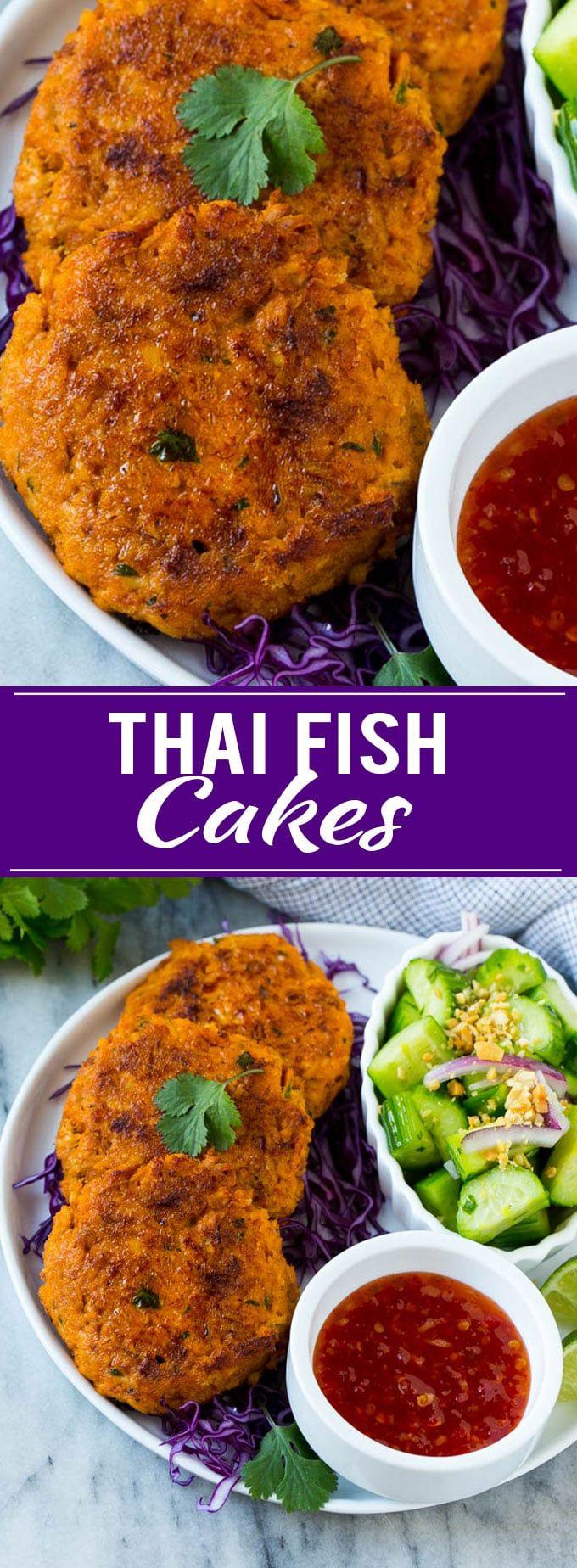 Thai Fish Cakes | Salmon Patties | Thai Food