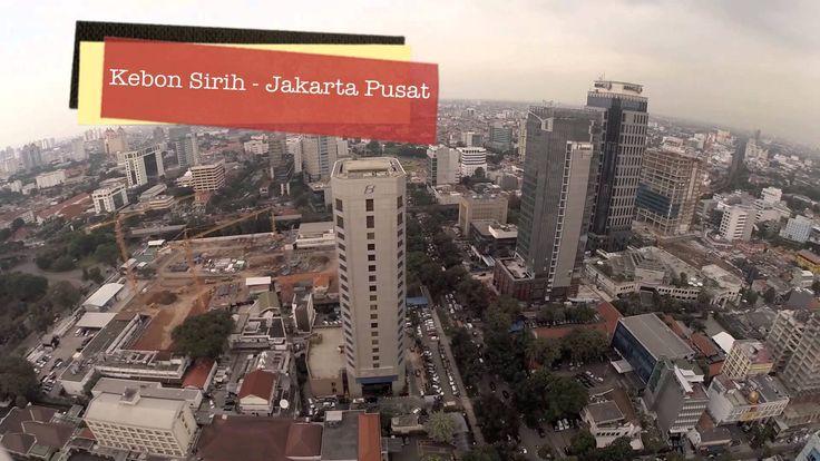 [Aerial Video] Kebon Sirih, Jakarta Pusat, Indonesia