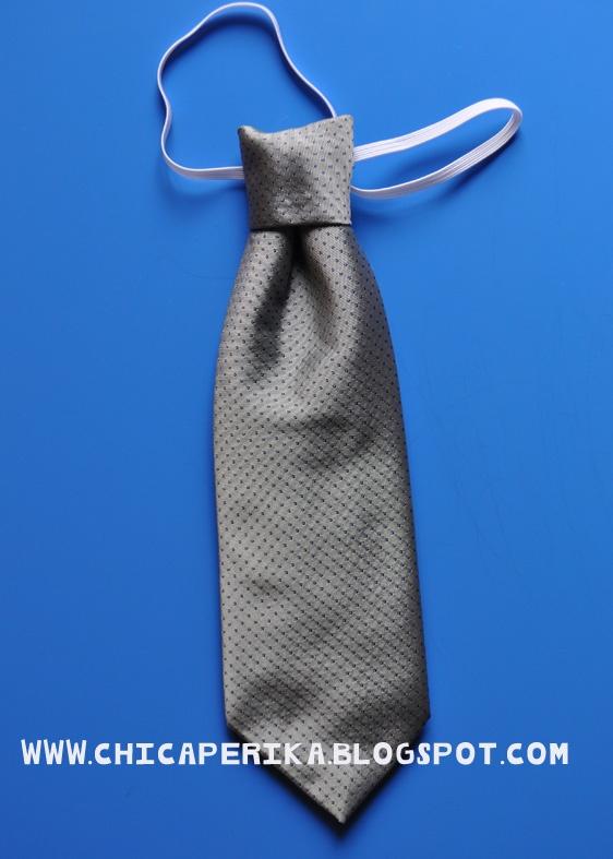 Tutorial de Cómo hacer una corbata para niño a partir de la de un adulto Manualidades   Tutoriales