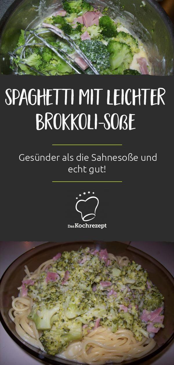 Spaghetti mit leichter Brokkoli-Soße