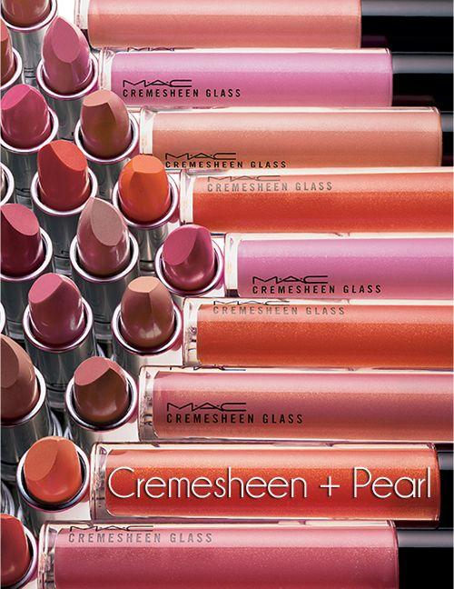 MAC Fall '12: Cremesheen + Pearl: 2012 Makeup, Mac Makeup, Fall 2012, Mac Lipsticks, Mac Lipgloss, Mac Cremesheen, Mac Cosmetics, Fall Photo, Pearls Collection