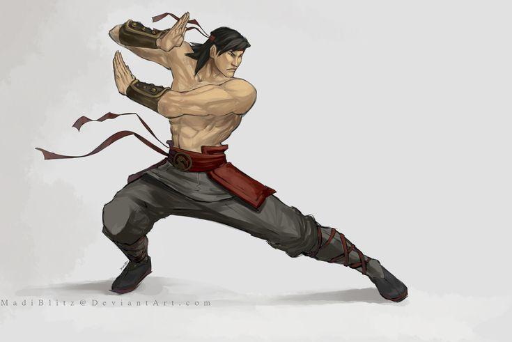 .Liu Kang. by MadiBlitz.deviantart.com