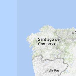 Camino de Santiago Portugues 2013 - Bikemap - Your bike routes online