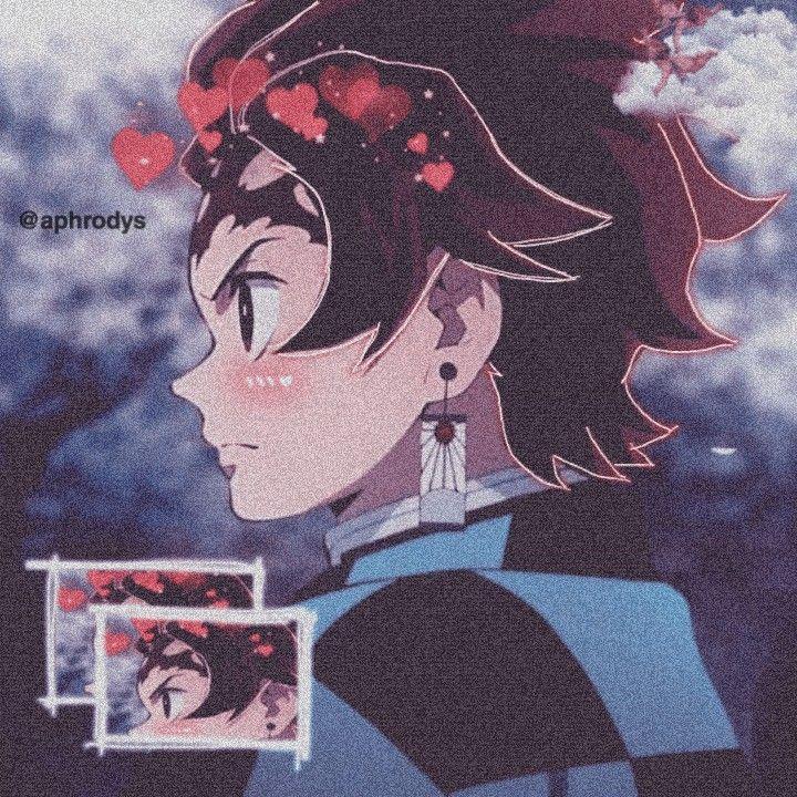 Kimetsu, tanjiro, nezuko, couple, metadinha, animeicons