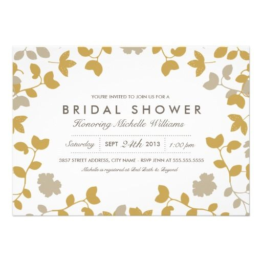 374 best bridal shower invitations images on pinterest fall in love bridal shower invitation filmwisefo Gallery