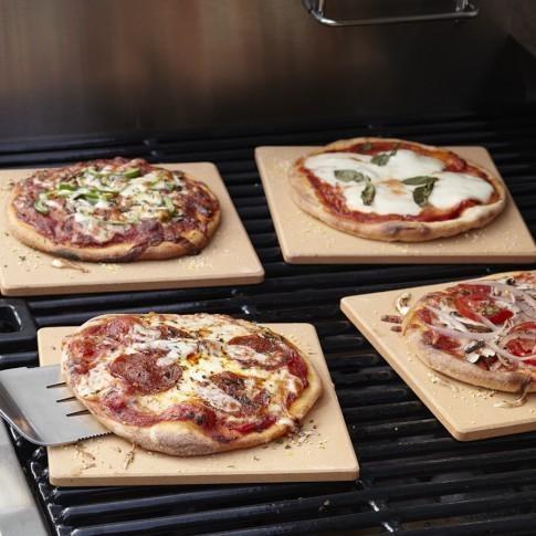 Square Mini Pizza Tiles For The Grill Dinner Pinterest