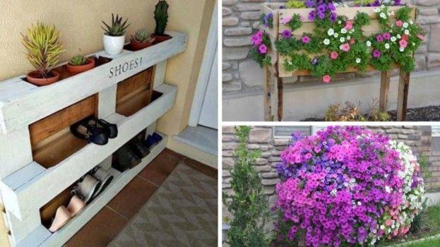 Najkrajšie nápady z paliet pre váš dom a záhradu!