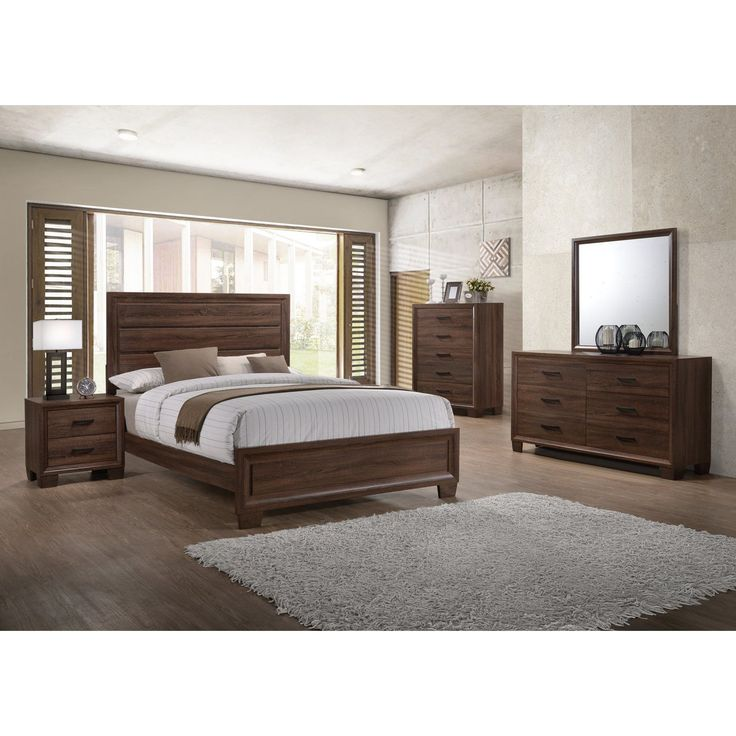Coaster Furniture Brandon Panel Bed 205321Q