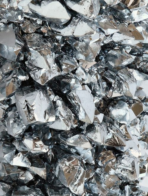 Kelly Wearstler Pyrite Gold Texture 3. yo shard: multitude of reflective surfaces