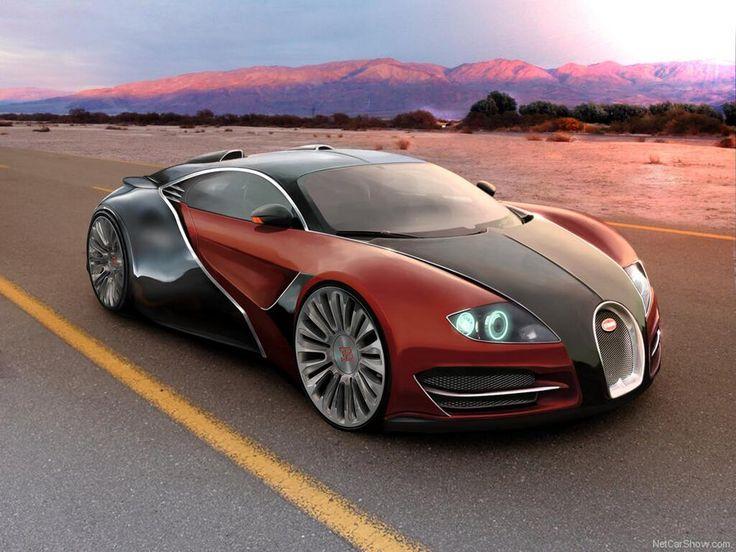 Attractive Bugatti EB Concept