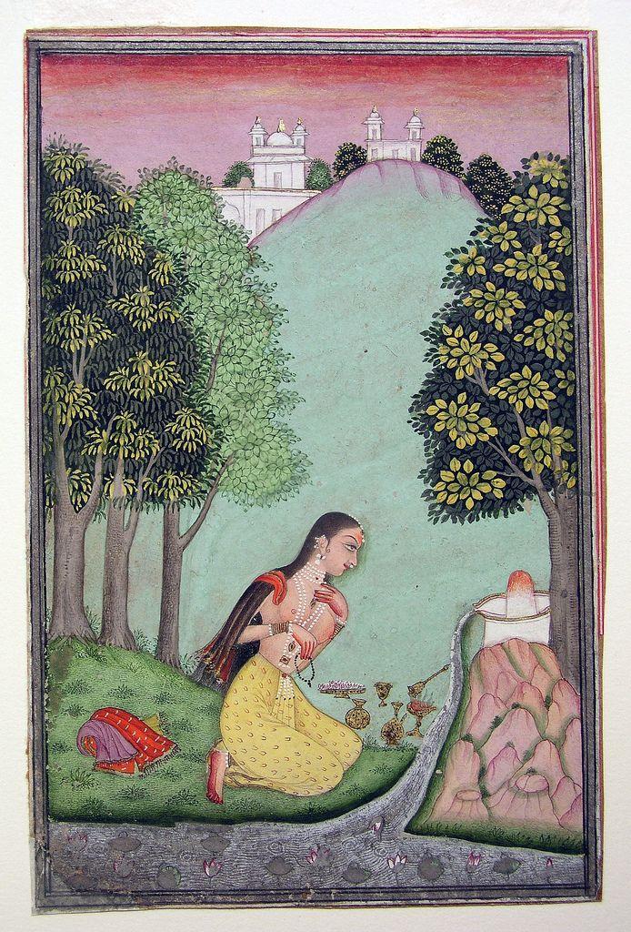 Bhairavi Ragini of Bhairava. Display Artist: Muhammad. Creation Date: 1721 Edwin Binney 3rd Collection, The San Diego Museum of Art