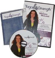 Yoga4Strength DVD packaging.