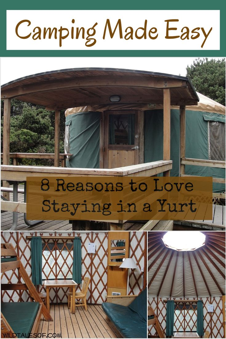 Camping Made Easy: 8 Reasons to Love Staying in a Yurt