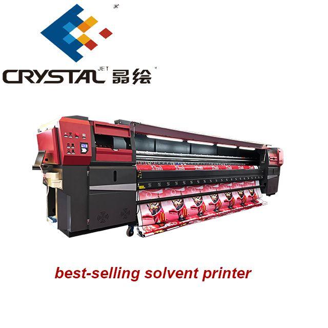 The Crystaljet Cj9000 Solvent Printer