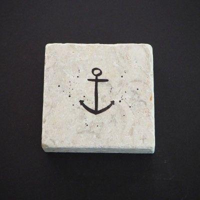 Imogen Stone Anchor Mini Stone #shopsmall  Shop online at thevillagemarketsgc.com.au/shop
