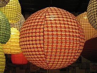 luminaire boule colors - Luminaire Boules Colores