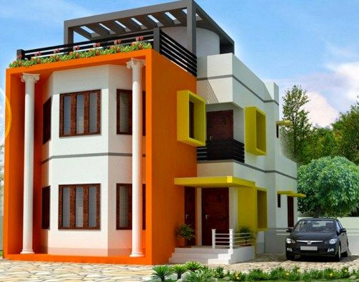 Desain Rumah Minimalis Modern 1 dan 2 Lantai 20