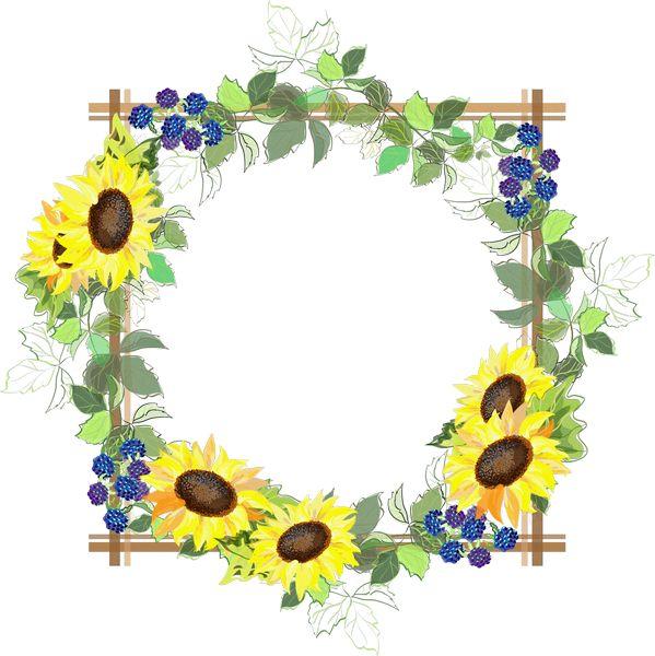 moldura floral amarela e branca - Pesquisa Google