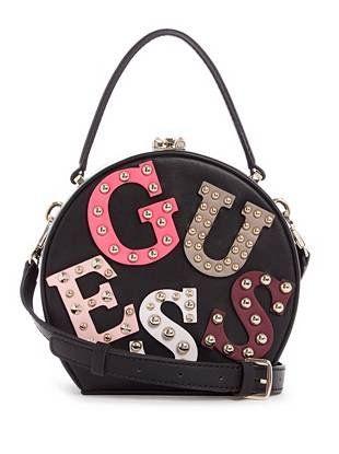 19a6b7796ad7 Lizzy Logo Round Mini Satchel | GUESS.com Fashion Bags, Fashion  Accessories, Unicorn