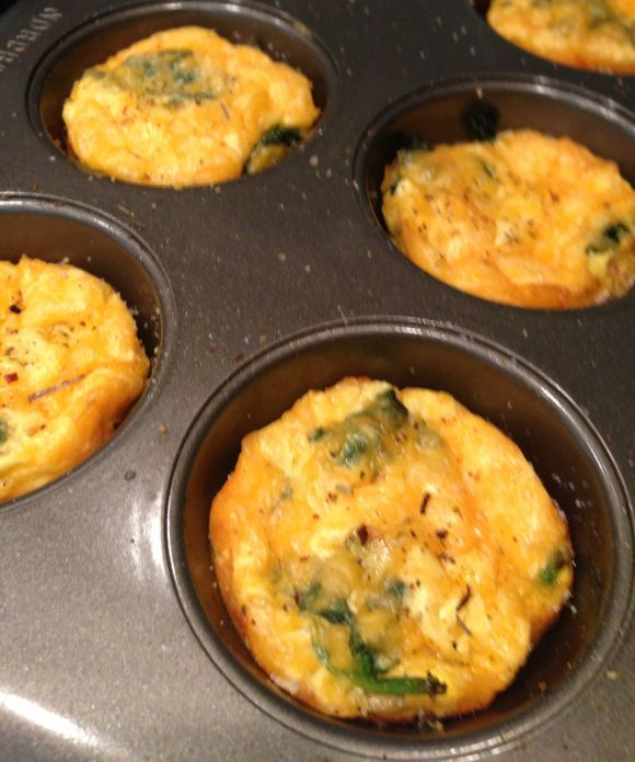 Mini Breakfast Quiche- planning ahead for healthy meals!