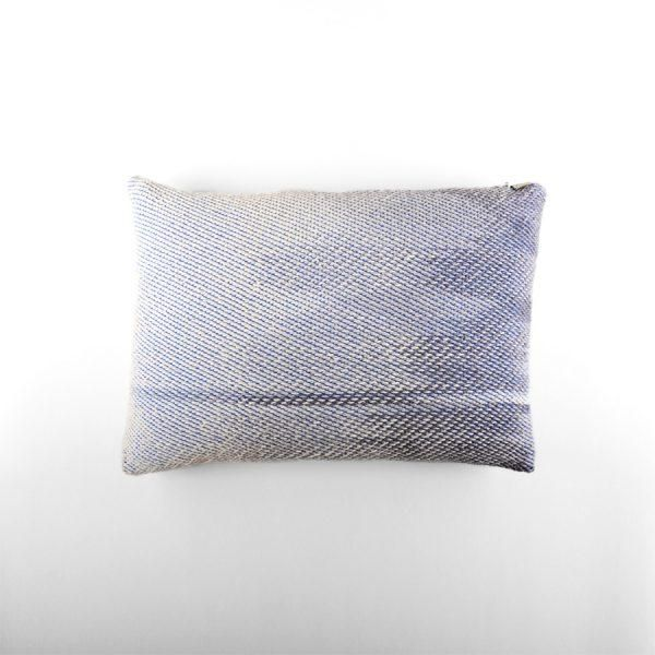 Wool hand knitted Cushion cover