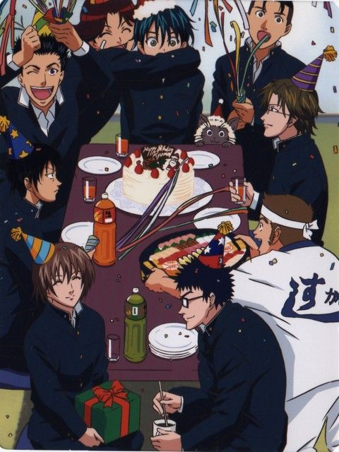 Prince of Tennis ~~ Birthday time!