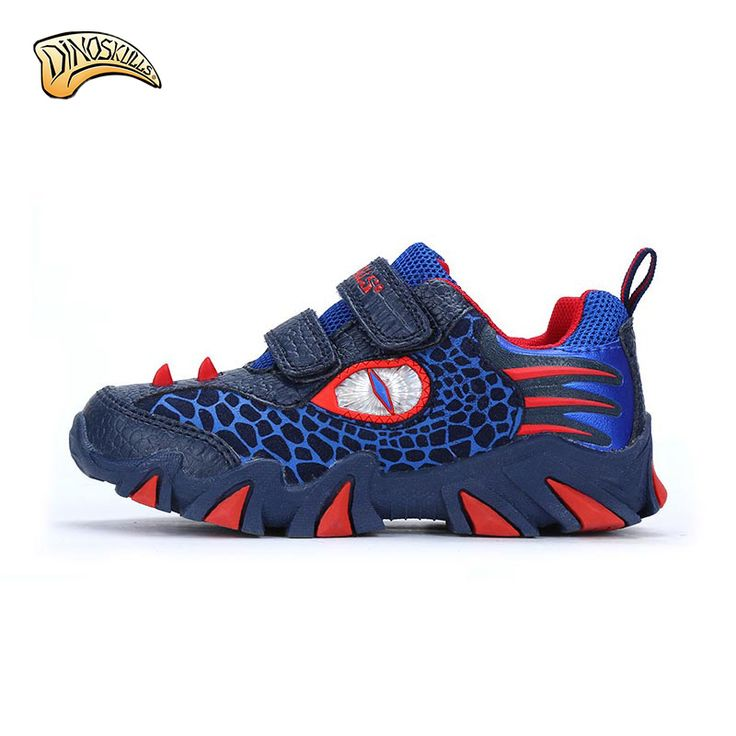 2017 Spring and Autumn new Fashion kids shoes boys sneakers children Cartoon dinosaur sports shoes child casual shoes  AS176 #Affiliate