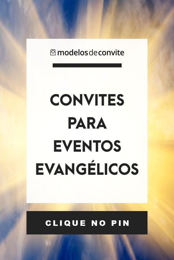 Convites Evento Evangelico Modelos De Convite Para Eventos