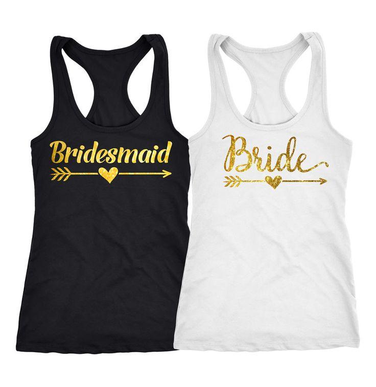 Bridesmaid Tank Top, Bride Shirts, Bachelorette party ideas , 118