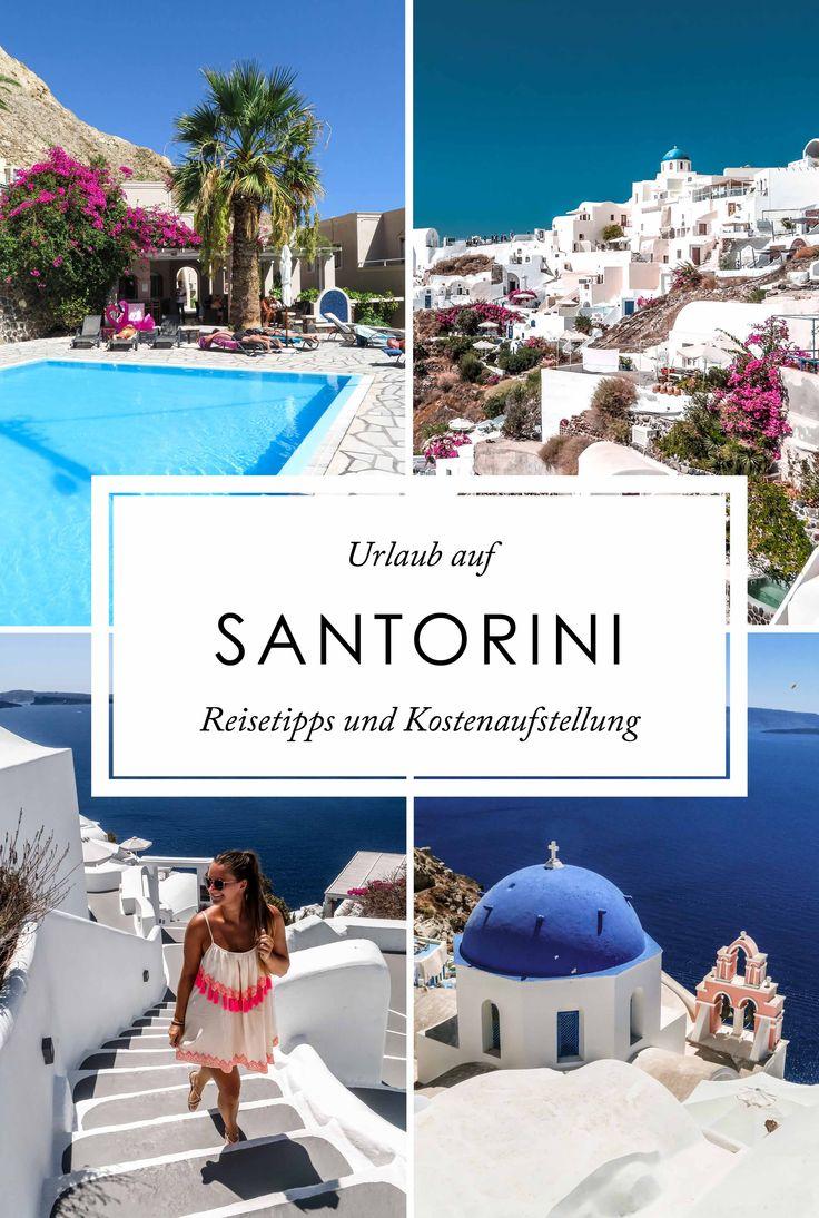 Was kostet ein Santorini Urlaub? Reisetipps und Kostenaufstellung – Ninifeh – Reisen & Strände