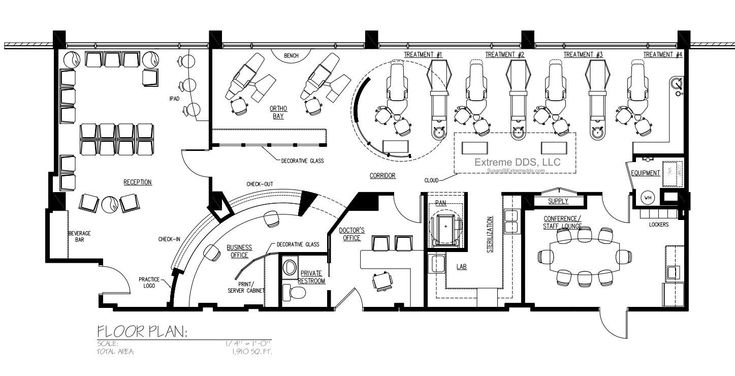 34 best images about floor plans on pinterest vanuatu reception areas and dentists for Orthodontic office design floor plan