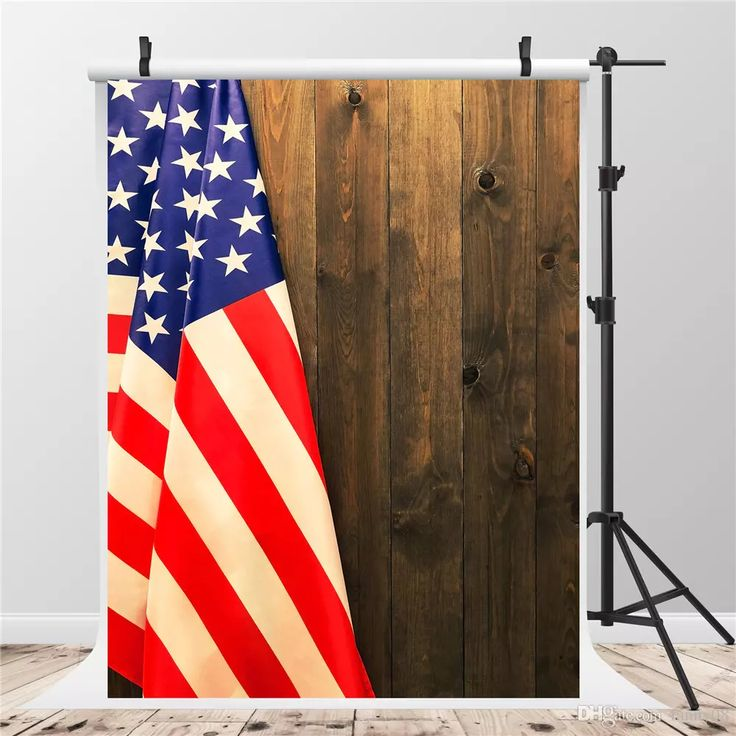 SUSU Fabric Material Photography Backgrounds Brown Wooden Wall USA Flag Photo Backdrop 5x7ft Without Crease Independence Day Background USA Flag Photo Backdrop Baby Background 4th of July Backgrounds Black Backdrop Online with $156.12/Piece on Fanny08's Store | DHgate.com