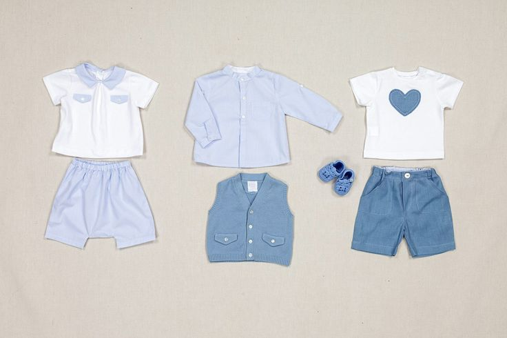 Little boys and newborns jersey and cotton clothes