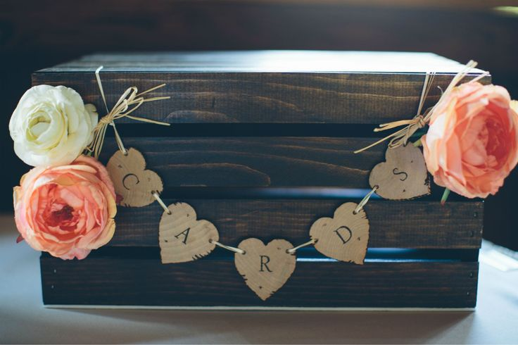 Fall Wedding Gift Card Box : Cards Boxes Wedding, Diy Rustic Wedding Cards Boxes, Wedding Card Box ...