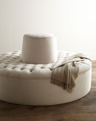Master Closet Audrey Tufted Conversation Settee By Old