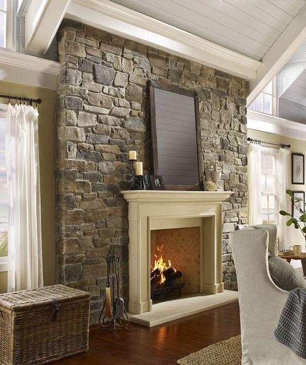 15 Elegant Stone Wall Interior Designs Decoratoo Stone Walls Interior Stone Wall Interior Design Stone Interior